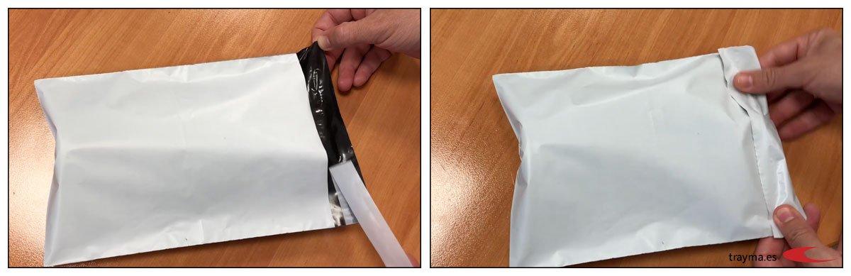 Bolsas para envíos de paquetería
