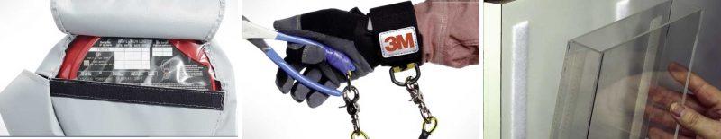3M SJ352B Aplicaciones gancho y bucle