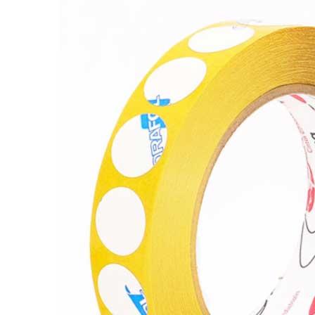 Circulos adhesivos de doble cara transparentes bajo espesor
