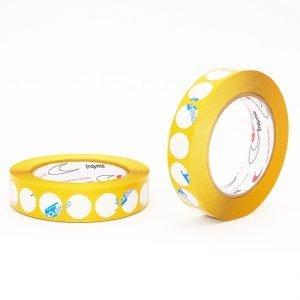 Circulos cinta adhesiva doble cara