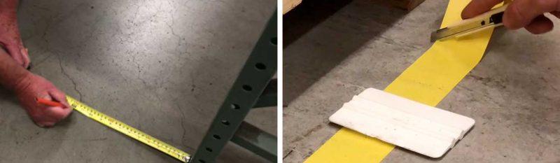 Consejos para la instalación de cinta adhesiva