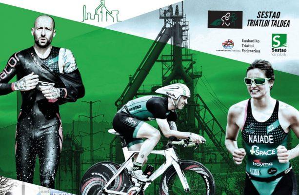 V Triatlon Sestao, imagen de cartel