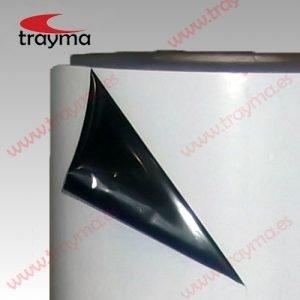 TYM 1315 Película de recubrimiento de polietileno para protección temporal de PVC, metal y otras superficies. Exterior blanco -  interior negro