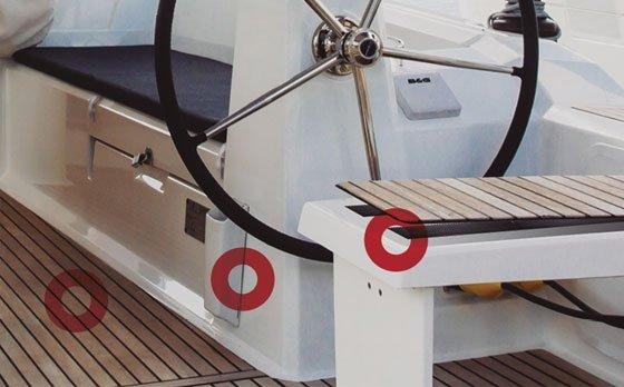 Paneles de revestimiento en vehículos y barcos Velcro Alfa Lok