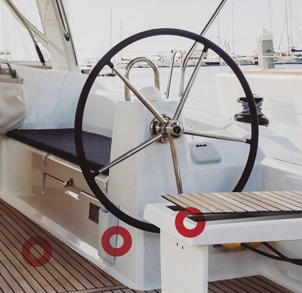 Fijación de paneles para embarcaciones removibles con cinta Velcro Alfa-Lok
