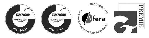 Logotipos de calidad de Trayma