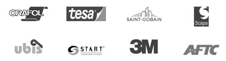Logotipos de partners de trayma