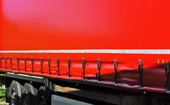 Marcaje reflectante para lonas de camiones