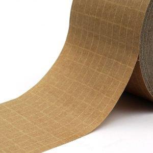 TYM 1124 Cinta adhesiva de papel Kraft reforzado con filamentos entrecruzados