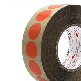 Circulos adhesivos doble cara transparentes TYM 82506 alta temperatura