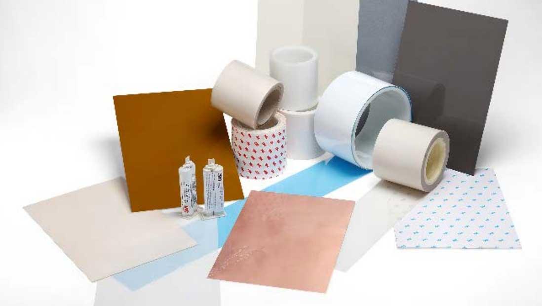 Productos adhesivos para la interfaz de transferencia térmica de leds
