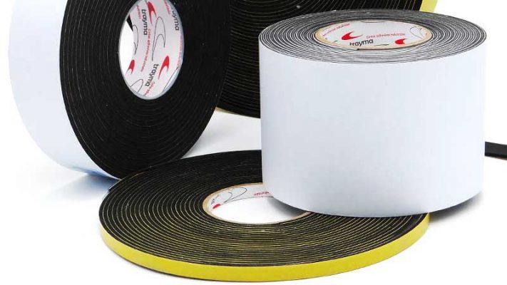 Espuma de PVC y EPDM esponjoso con adhesivo