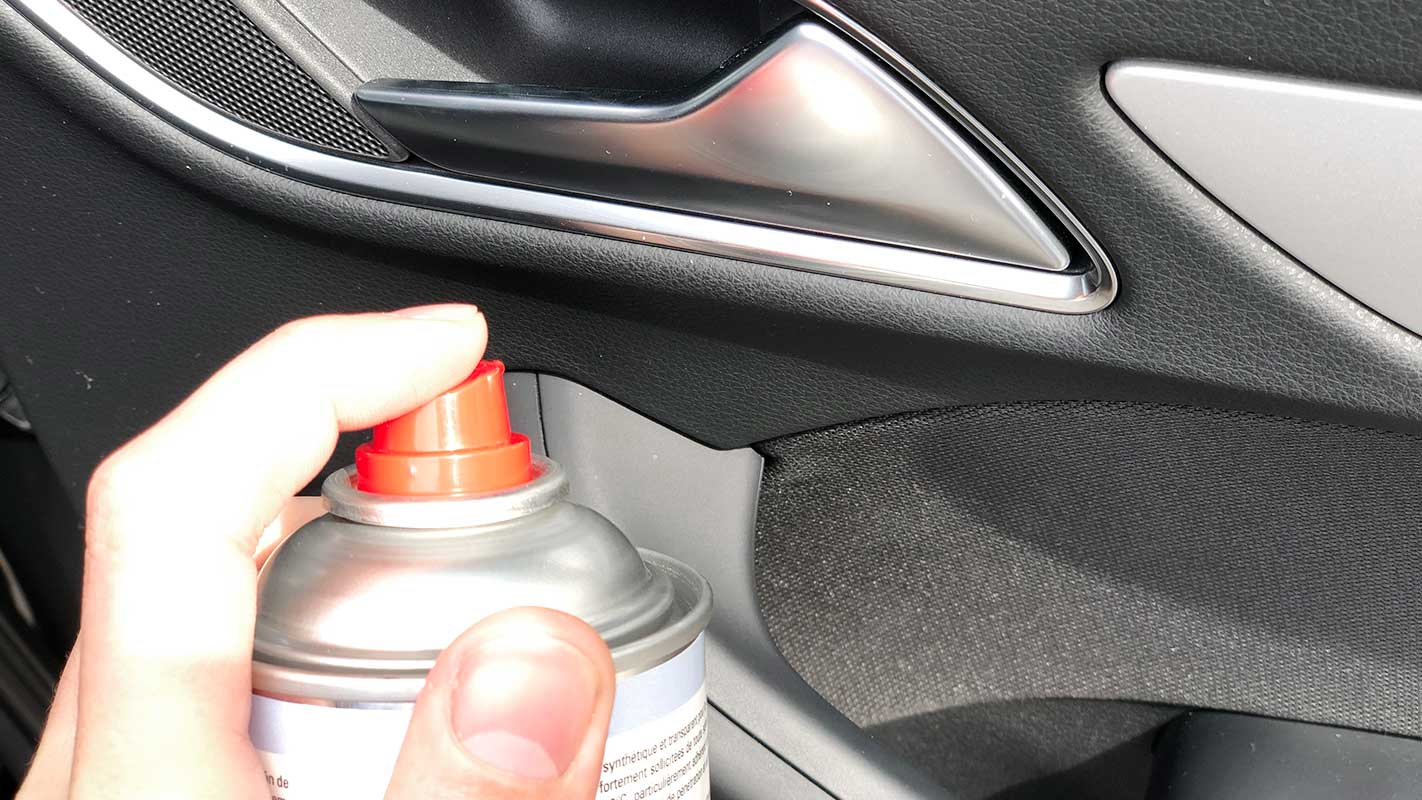 Spray lubricante de silicona