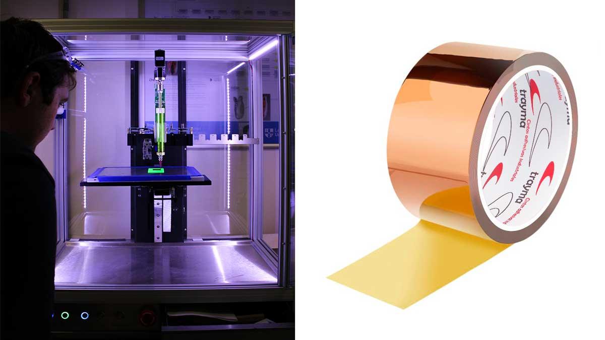 Para qué se emplea la cinta de poliamida en impresión 3D
