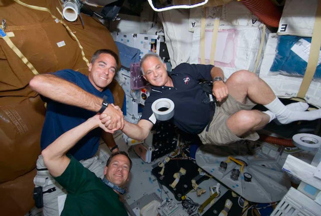 Cinta americana El transbordador espacial Endeavour