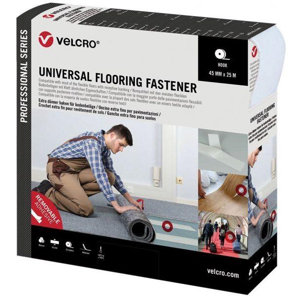 Marca Velcro fijación de suelos y moquetas - Universal Flooring