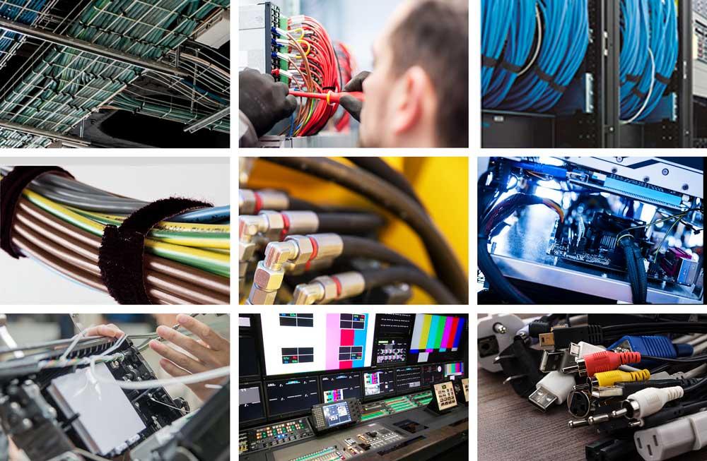 Sujeción de cables marca VELCRO