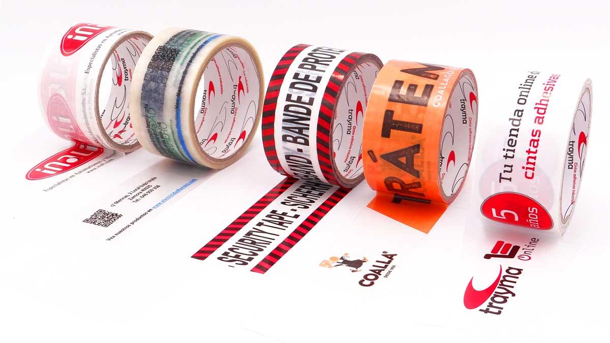 Cinta adhesiva personalizada con logo
