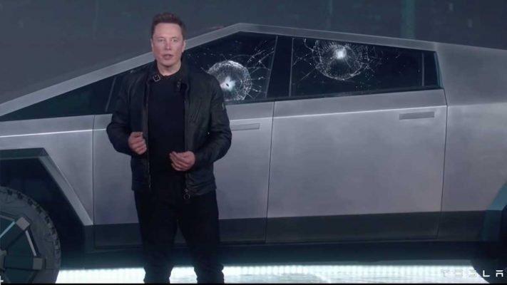 Por que se rompen los cristales del Tesla Cybertruck