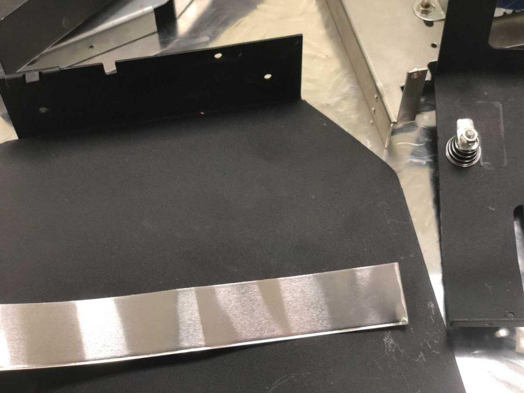 Cinta adhesiva 3M 2552 aplicaciones para reducir ruido por vibración estructural