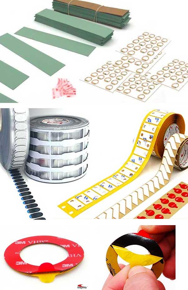 Conversión y manipulación de cinta adhesiva
