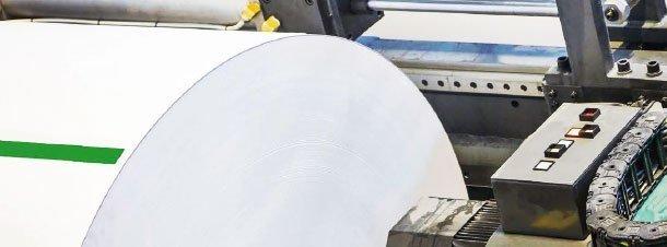 Cintas adhesivas fabricación de papel