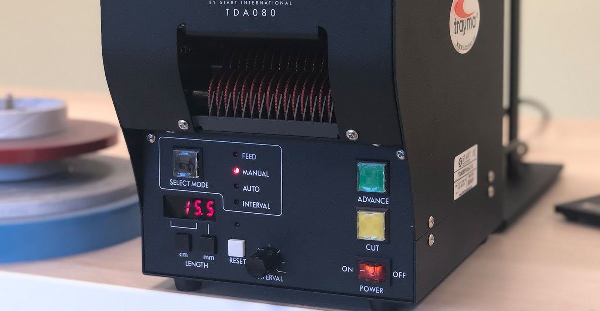 Dispensador automático electrónico de cinta adhesiva start international TDA080