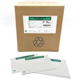 sobres portadocumentos adhesivos 100% papel ecológicos documentación