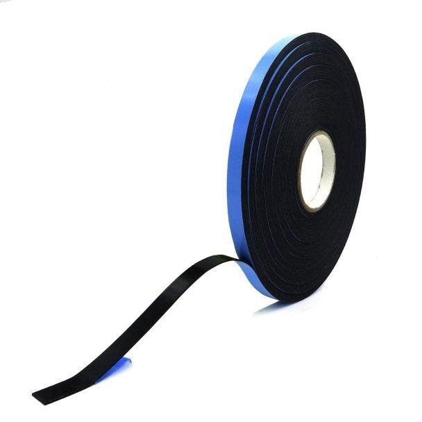 Cinta adhesiva de espuma de polietileno con adhesivo a dos caras color negro