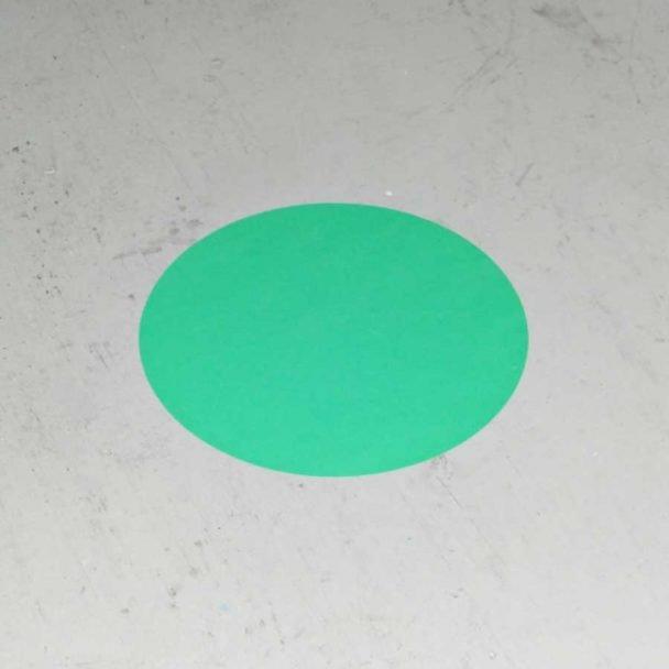 Círculos adhesivos para el marcaje de suelos