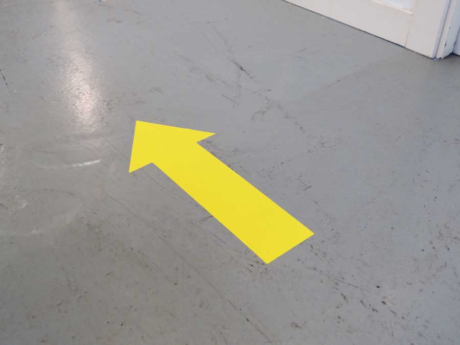 Flecha adhesiva