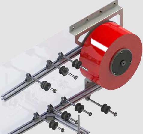 Enimac XT Despooler Máquina para Spools