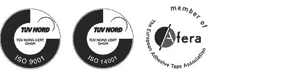 Logotipos de calidad cinta adhesiva Trayma
