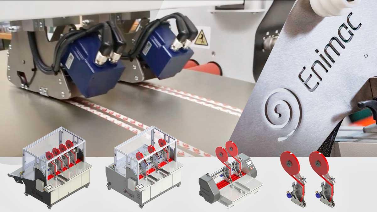 Aplicador de cinta adhesiva Enimac