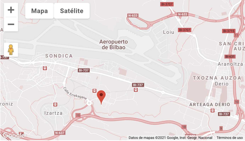 Localización Trayma