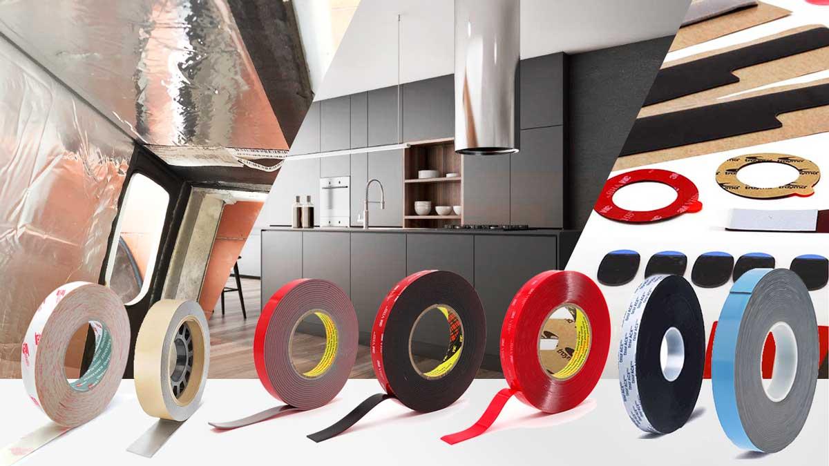Cintas adhesivas para la fabricación de electrodomésticos