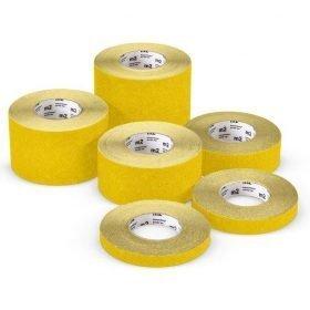 Cinta adhesiva antideslizante M2 Mehlhose color amarillo varias medidas