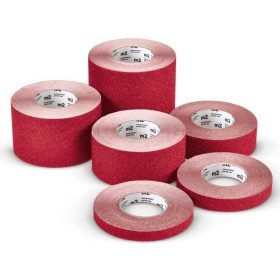 Cinta adhesiva antideslizante M2 Mehlhose color rojo varias medidas