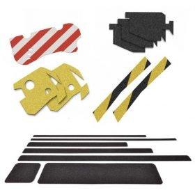Láminas adhesivas antideslizantes para vehículos, edificios, escaleras, rampas, etc.