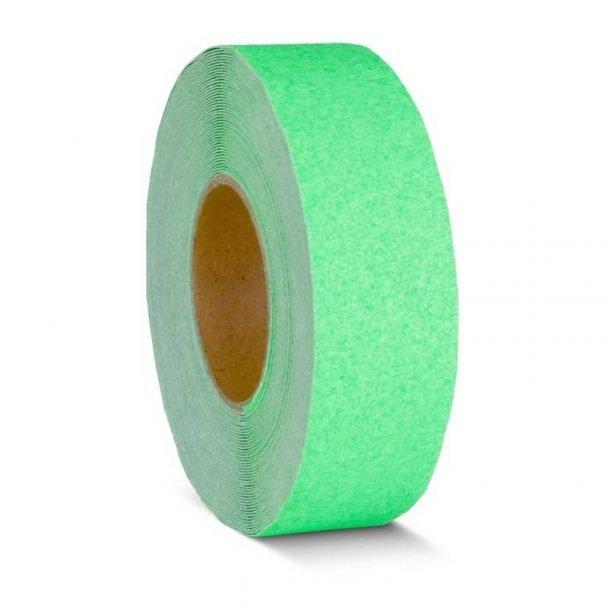 Cinta adhesiva antideslizante verde fluorescente