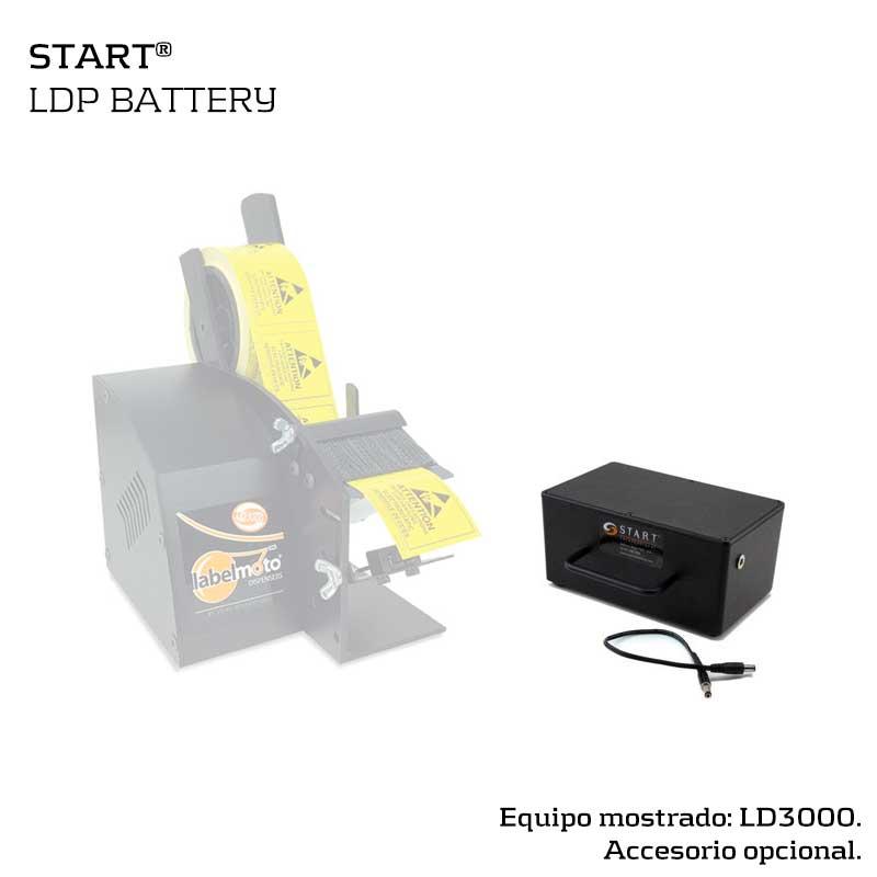 Batería externa para dispensador de etiquetas START LD