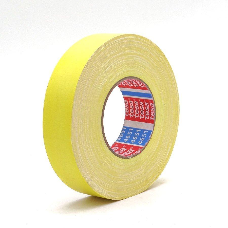 Cinta adhesiva tesaband 4657 amarilla