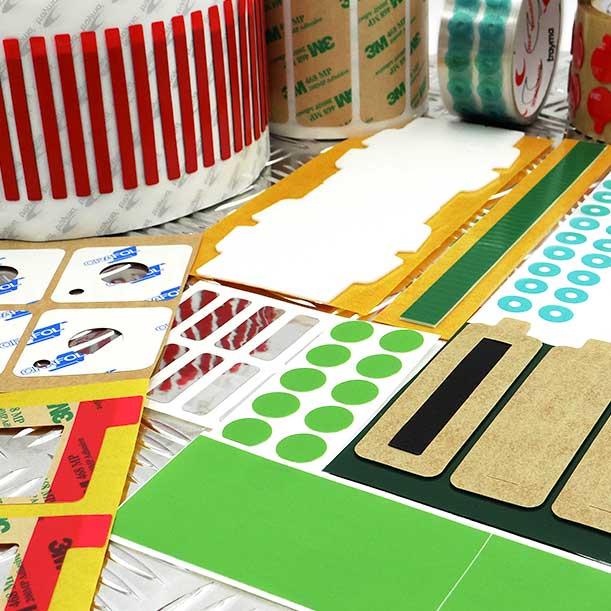 Cinta adhesiva troquelada, convertidor de cintas adhesivas