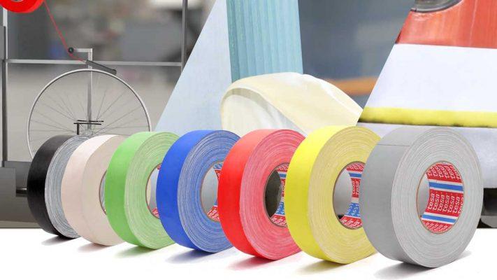 Cinta de tejido Tesaband 4651 - 4657 de colores