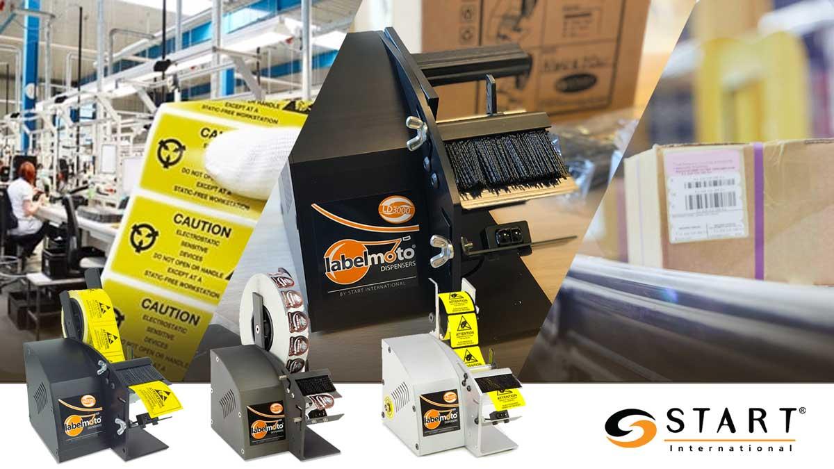 Dispensador automático de etiquetas START LABELMOTO LD3000