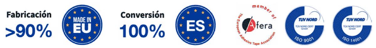 Logotipos tienda online cinta adhesiva