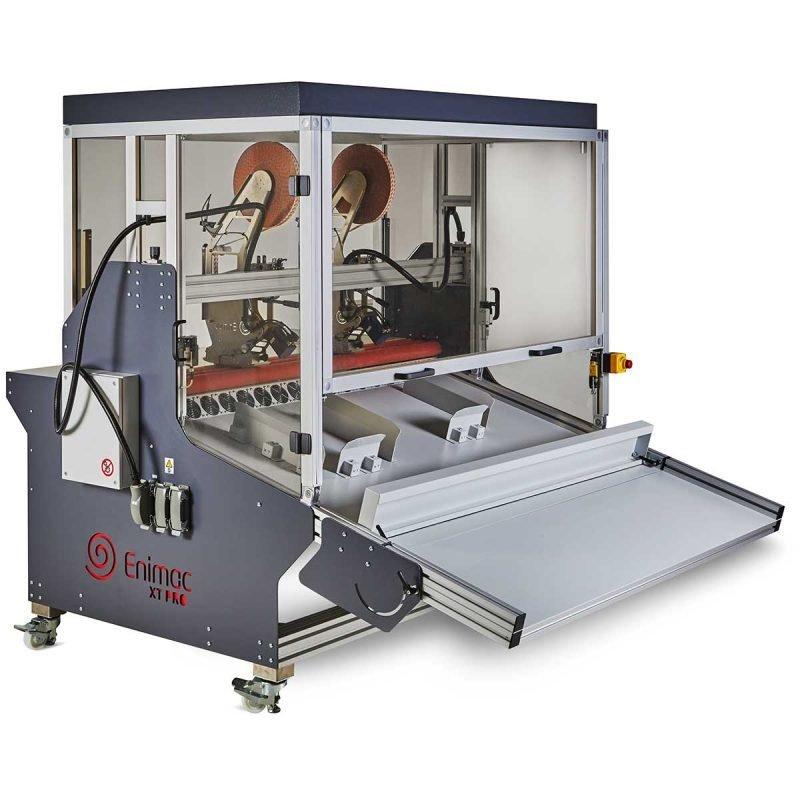 Enimac X-Treme PRO máquina de aplicación de cinta adhesiva automática vista frontal