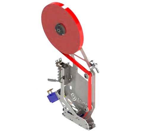 Cabezal aplicador de cinta adhesiva automático Enimac Xtreme para integrar en máquinas y robots